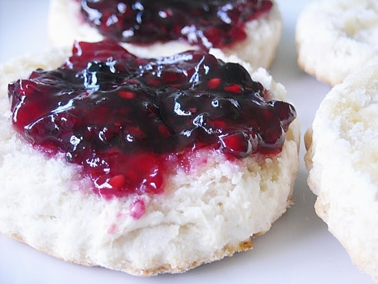 blackberry jam, jam, homemade jam, homemade biscuits, canning