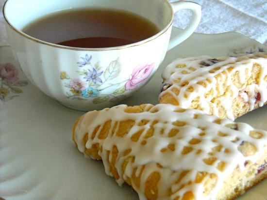 cranberry scones, tea, tea and scones, baking scones, whole white wheat flour, King Arthur Flour