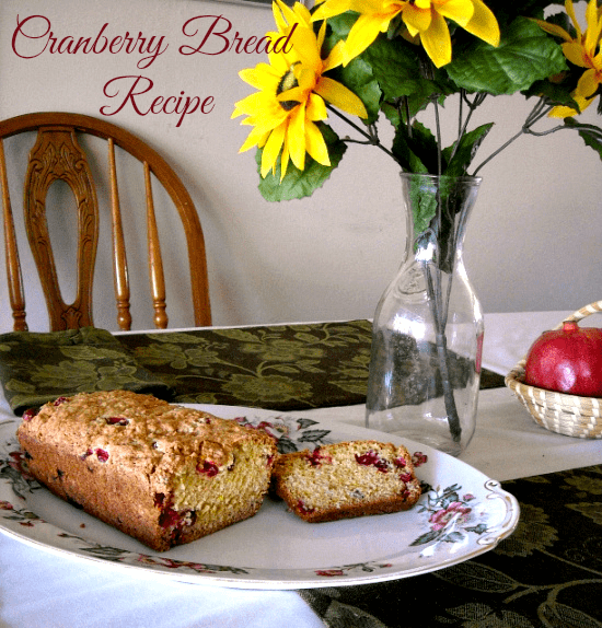 cranberry bread recipe, best cranberry bred, family recipe, holiday baking