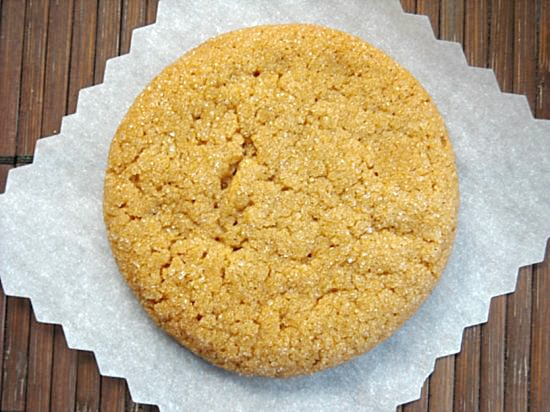 Big Soft Ginger Cookie Recipe-Flour On My Face