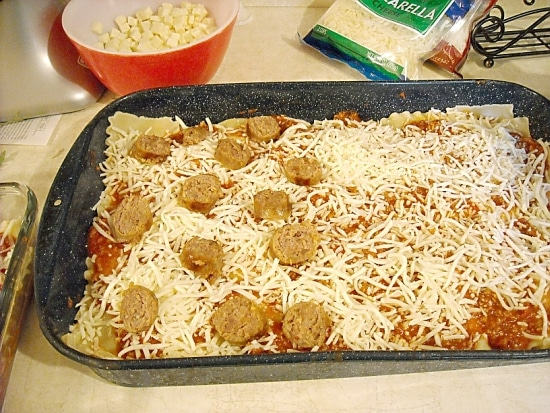 Assemble the Lasagna Layers