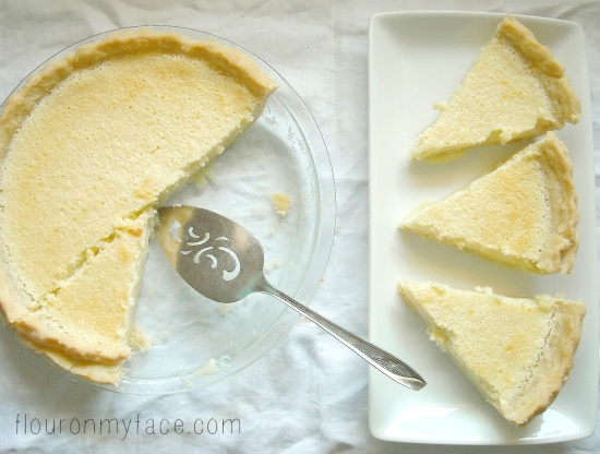 lemon sponge pie, pie recipes, lemon, family recipes