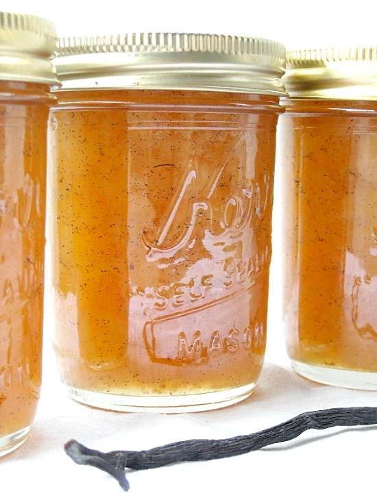 vanilla pear, jam, pear jam, jam recipes, pears, canning, jam, jelly recipes, vanilla beans