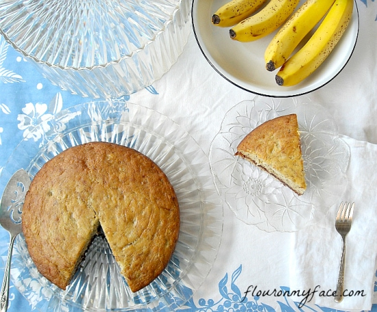 Banana Cake Recipe, Vintage Banana Cake, Recipe, family recipes