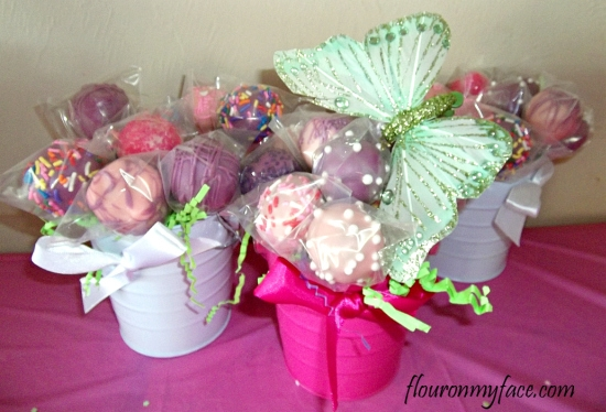 cake pops, garden fairy, how to make, cake pops, how to dip chocolate