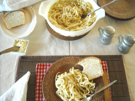 How to make homemade alfredo sauce