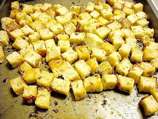 Make Croutons, Homemade Croutons, Homemade Seasoned Croutons, Crouton ...