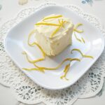 Fairy Food Cake, recipe, vintage recipe, project, creme fraiche, orange curd