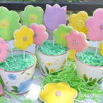 Spring Cookie Pops using McCormick products