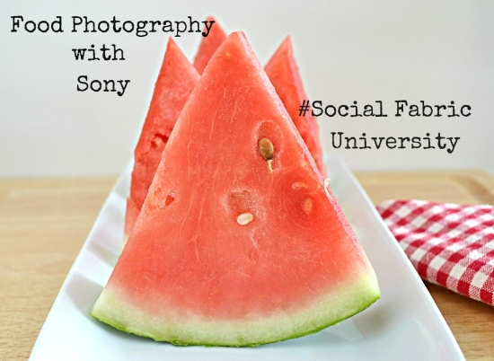 Food Photography with Sony