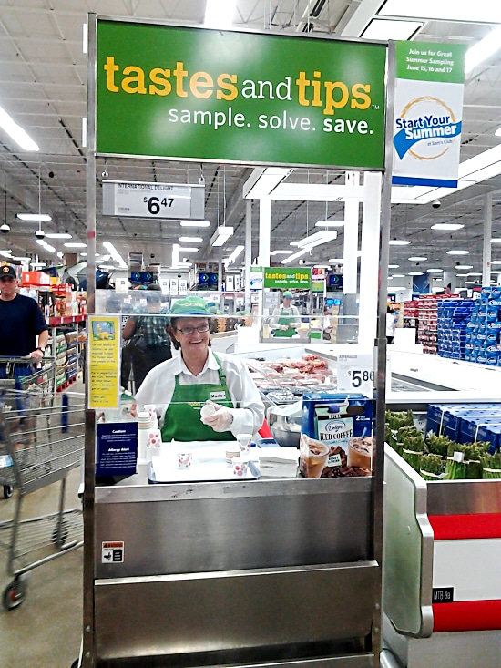 Sams Club #IcedDelight Demo