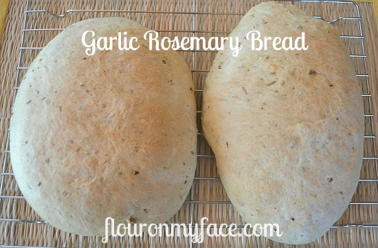 Rosemary and Garlic Bread take 2