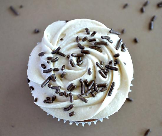 Mocha Brownie Cupcakes
