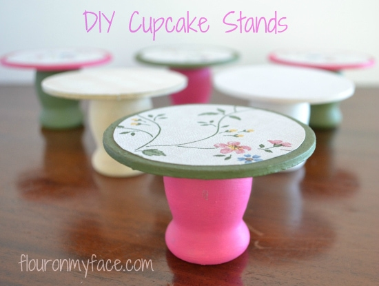 DIY Mini Cupcake Stands