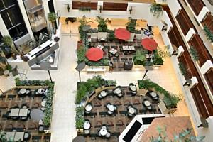 Embassy Suites Hotel Open air Atrium / Lobby