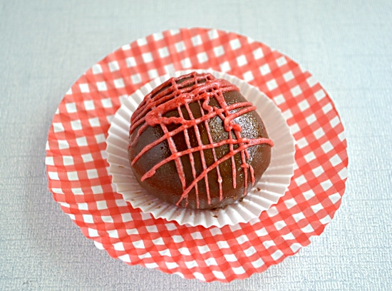 Chocolate Covered Cherry Cakeball