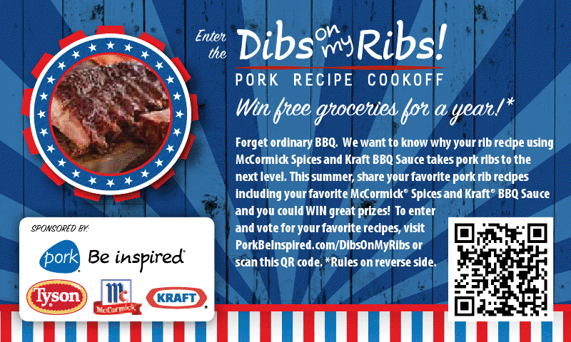 Dibs on my Ribs Cookoff