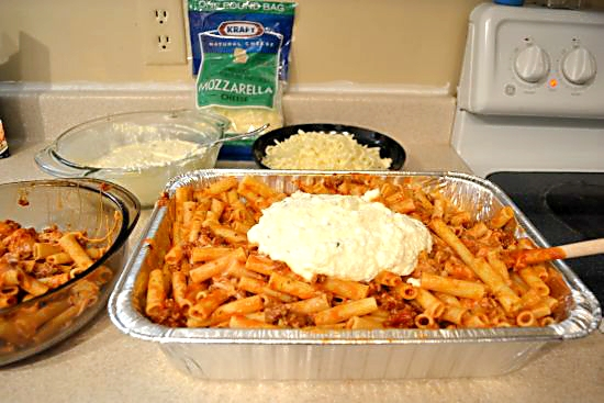 Baked Ziti recipe ricotta cheese