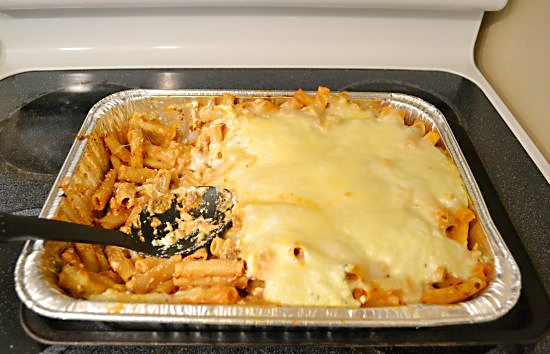 Baked Ziti Cooked
