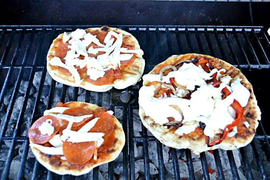 The Grilled Pizza Series