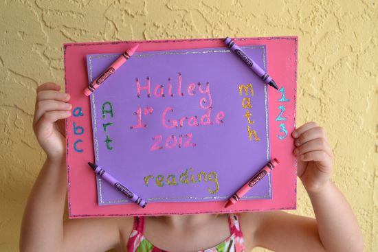 Elmer's Back To School Craft