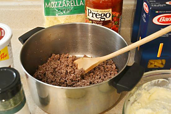 Baked Ziti ground Beef