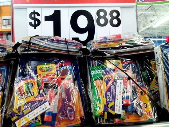 #BagItForward Walmart Back To School Supply Kit