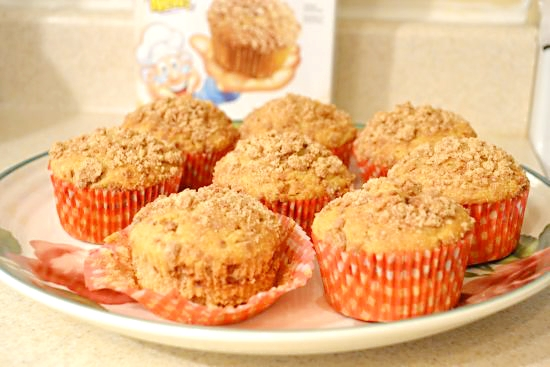 CinnamonToast Crunch Muffins