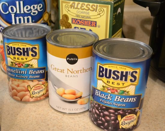 Canned Beans for crockpot soup