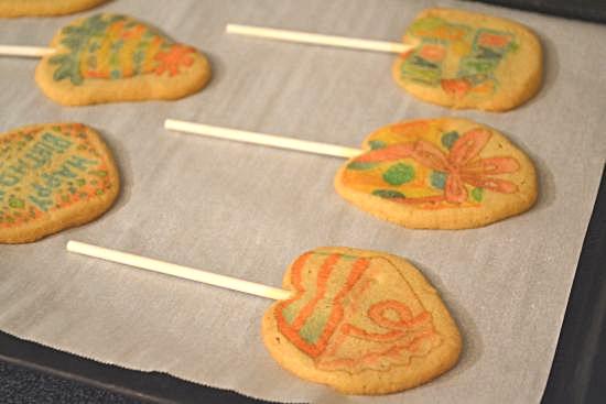 Nestle Birthday Cookie Pops