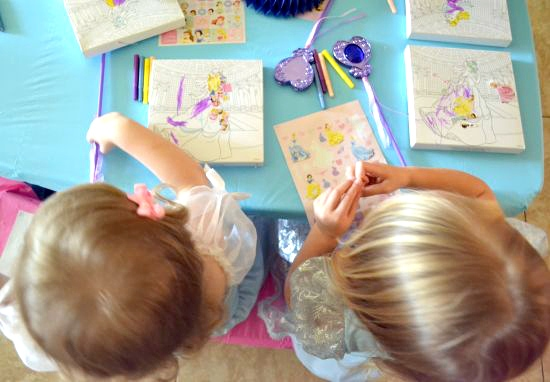 Cinderella  party crafts