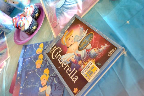 New Cinderella DVD Disney Party