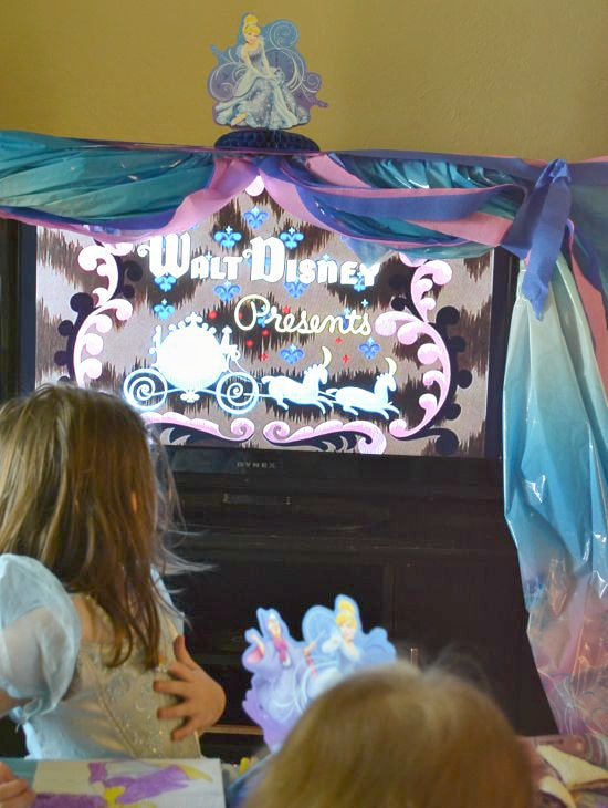 Disney Cinderella DVD Party