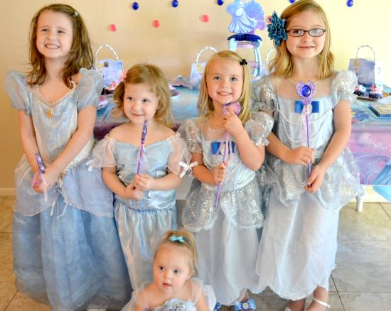 Disney Cinderella DVD Princess Party