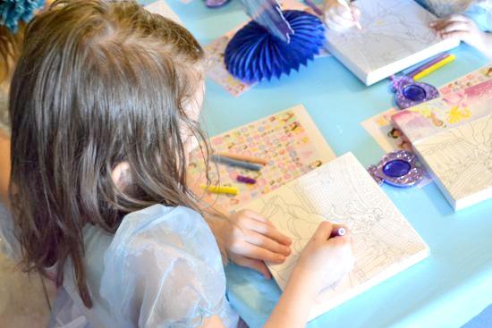 Princess Brianna Coloring