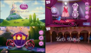 Disney Princess Royyal Ball App Collage