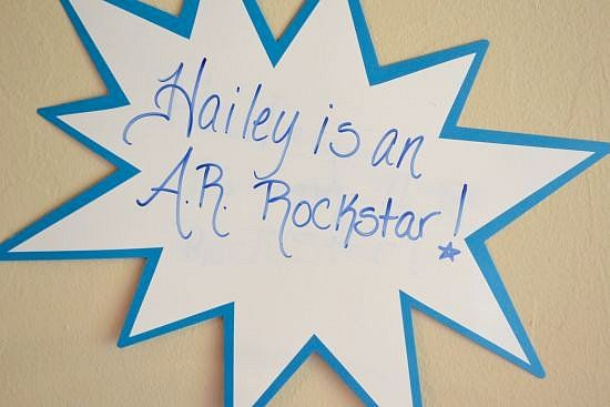 Hailey is an A.R. Rock Star