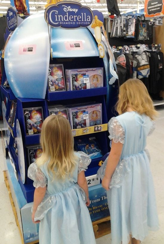 Buying the Disney Cinderella DVD