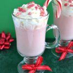 Silk Candy Cane White Coconut Hot Cocoa #SilkHoliday