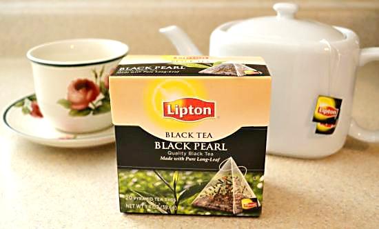 Unilever Lipton Black Pearl Tea