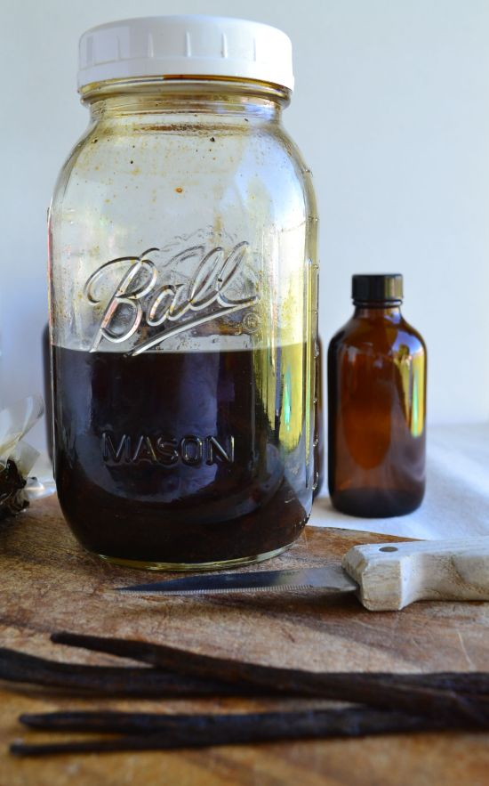 10 Month Cured Homemade Vanilla Extract