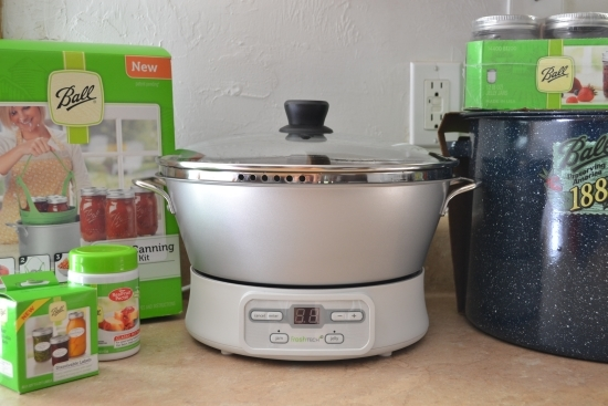 Making Jam with the Ball Canning Automatic Jam & Jelly Maker