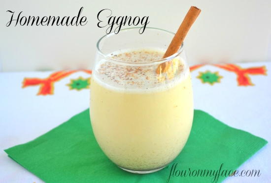 Award winning Food Network Magazine recipe Homemade Eggnog Recipe