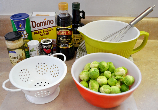 how to clean brussel sprouts off the stalk