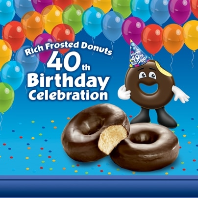 Entenmmans Rich Chocolate Donut, Birthday Giveaway  and surprise announcment.