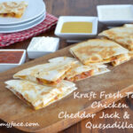 Kraft, Fresh Take, Cheddar Jack and Bacon, Quesadilla Recipe