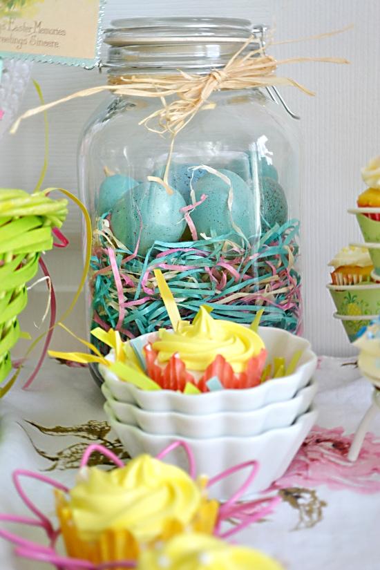 Easter decorations, Nest Jar