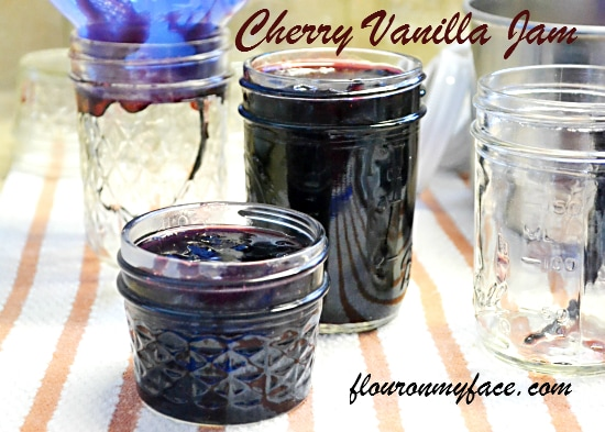 Sweet Cherry Vanilla Jam