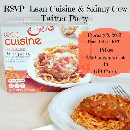 Lean Cuisine, Skinny Cow, Sam's Club, Twitter Party