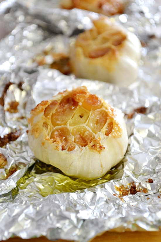 How to Make Perfect Roasted Garlic | Flour On My Face